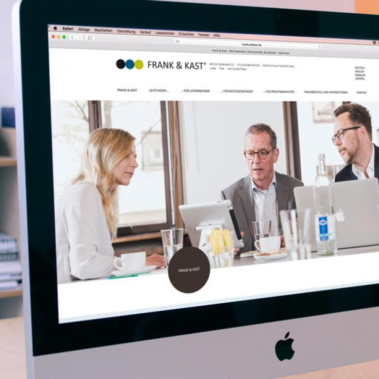 Frank und Kast Website