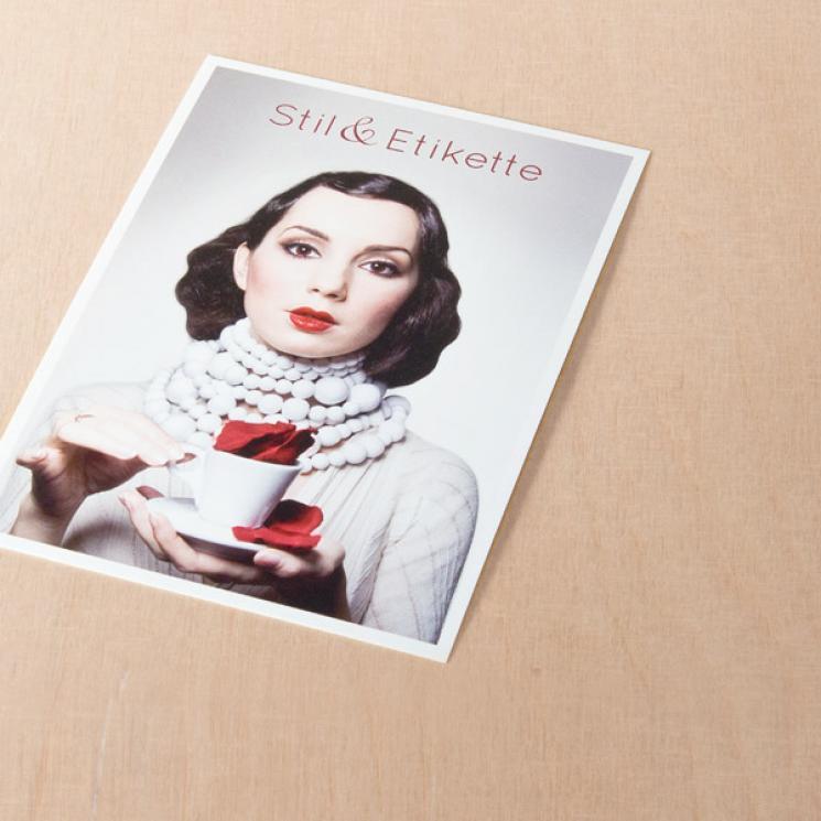 Stil & Etikette Postkarte
